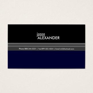 Masculine Business Card