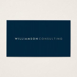 MASCULINE BUSINESS CARD :: simple pinstripe 3