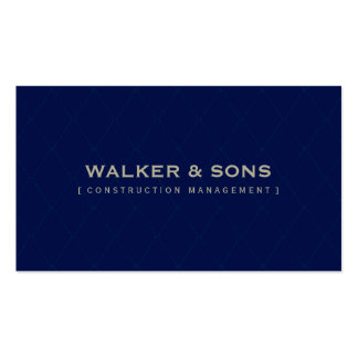 MASCULINE BUSINESS CARD :: simply smart 1