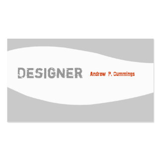 Masculine Guy Minimal  Designer Designs Pack Of Standard Business Cards