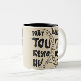 Masculine Pride Two-Tone Coffee Mug