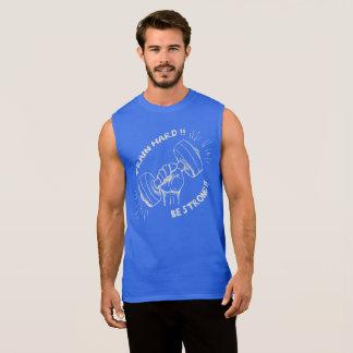 Masculine regatta Train Hard Sleeveless Shirt