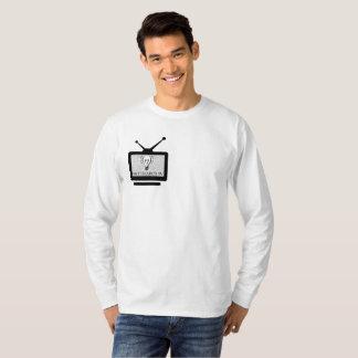 Masculine t-shirt Basic Long Arch Search TV