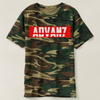 "Masculine t-shirt Camouflaged ""Advanced"" (New)"