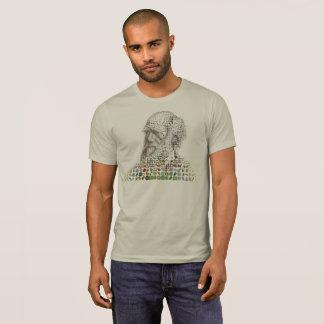 Masculine t-shirt Charles Darwin