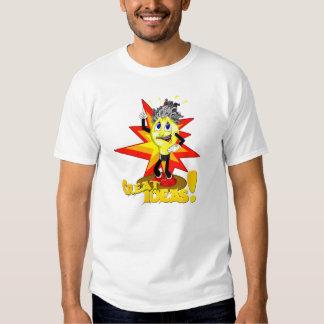 """Masculine t-shirt """"Great Ideas! """""""