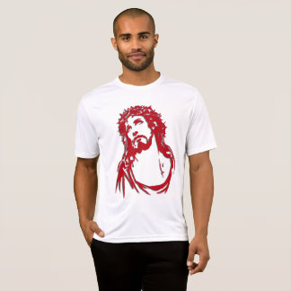 Masculine t-shirt with image of Christ