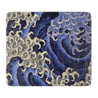 Masculine Wave by Katsushika Hokusai Cutting Boards