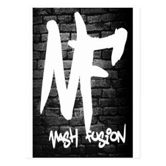 Mash Fusion Logo Merchandise Postcard