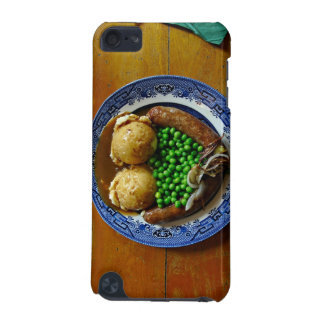 Mash on old china plate on wooden table iPod touch 5G cases