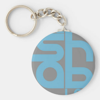 Mashable Basic Round Button Key Ring