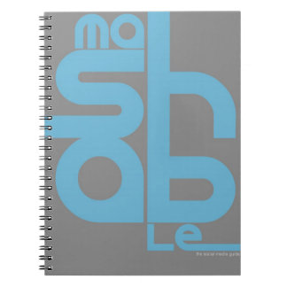 Mashable Spiral Notebook
