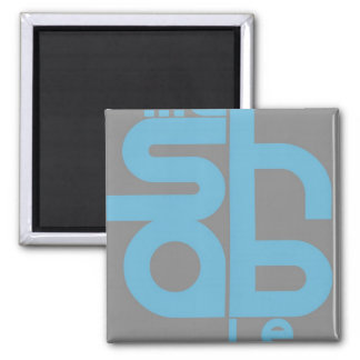 Mashable Square Magnet