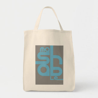 Mashable Grocery Tote Bag