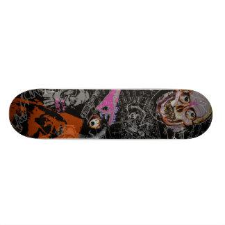 Mashed Monsters Film Noire Collage Skateboards