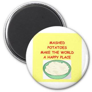 mashed potatoes magnet