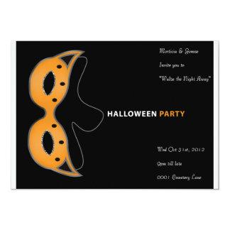 Mask Halloween Party Invitation