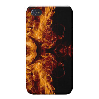 Mask of Fire iPhone 4 Cases