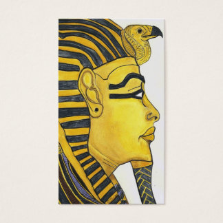 mask of gold business card