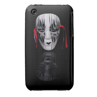 Mask on black iPhone 3 Case-Mate case