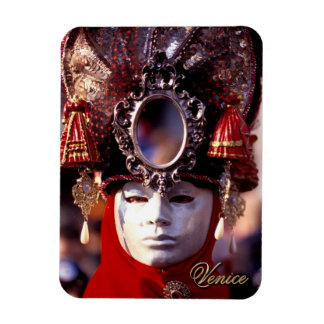 Mask Rectangular Photo Magnet