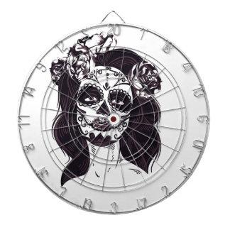 Mask Skull Dartboard