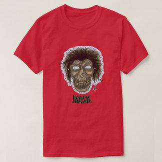 Mask - Vampire Zombie Monster Logo Lite Blue T-Shirt