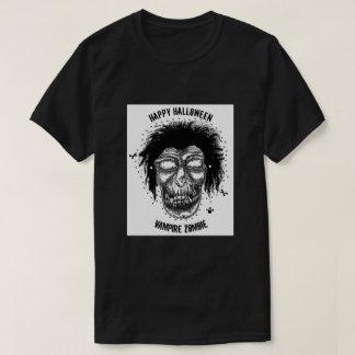 Mask - Vampire Zombie Monster Mask Black/White T-Shirt