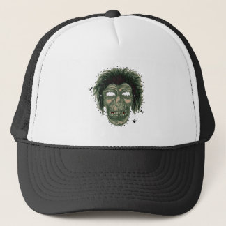 Mask - Vampire Zombie Monster Mask Logo Trucker Hat