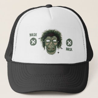 Mask - Vampire Zombie Monster Mask Trucker Hat