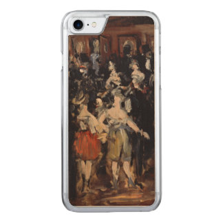 Masked Ball at the Opera by Edouard Manet Carved iPhone 7 Case
