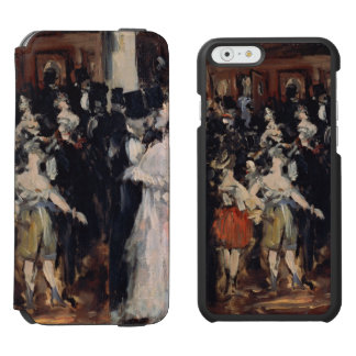 Masked Ball at the Opera by Edouard Manet Incipio Watson™ iPhone 6 Wallet Case
