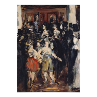 Masked Ball at the Opera by Edouard Manet Cards