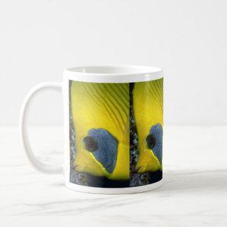 Masked butterfly fish mug
