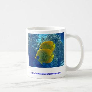Masked Butterfly fish on a mug