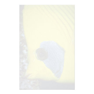 Masked butterfly fish customized stationery