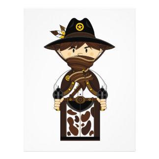 Masked Cowboy Sheriff Flyer