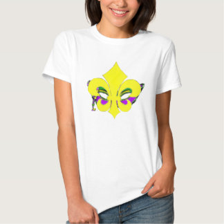 Masked Fleur De Lis Tshirt