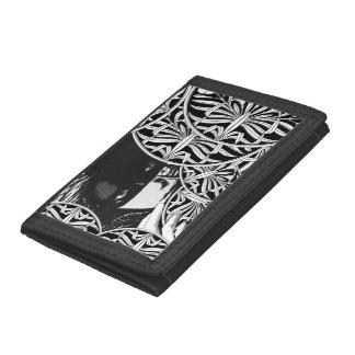Masked girl wallet