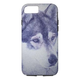 Masked Husky Iphone Case