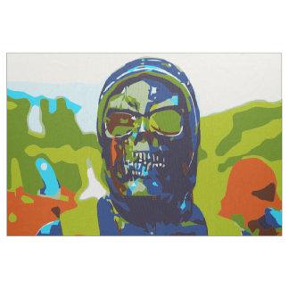 Masked man fabric