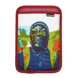 Masked man iPad mini sleeve