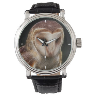 Masked Owl Fractal Watches