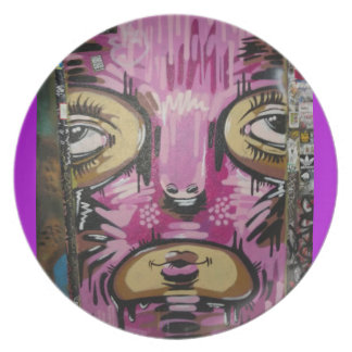 Masked Plate