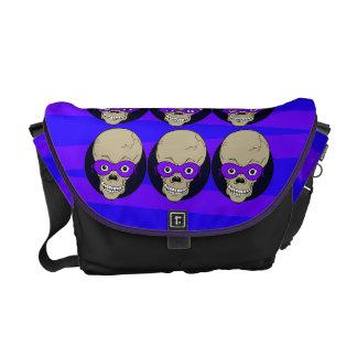 Masked Skulls Rickshaw Messenger Bag