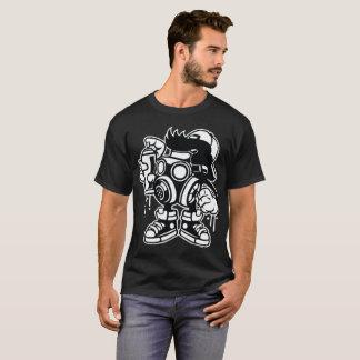 Masked Vandalizing Bomber T-Shirt
