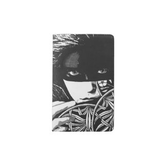Masked woman Notebook