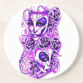 Masks Coaster