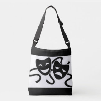 Masks of Drama Crossbody Bag