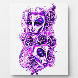 Masks Plaque